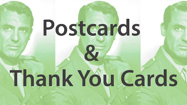 Postcards & Thank you Cards