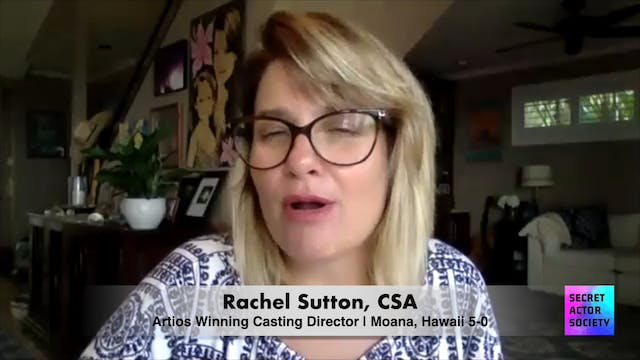Do You Teach Any Classes For Actors?