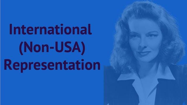 International (Non-USA) Representation