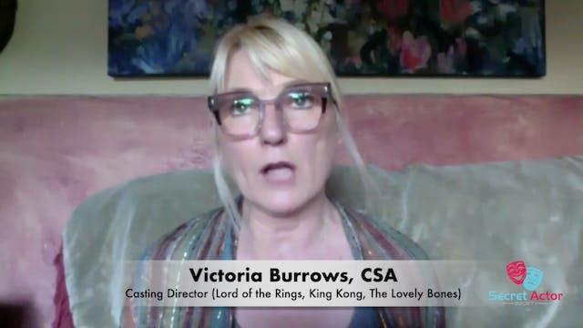 Victoria Burrows: Rapidfire