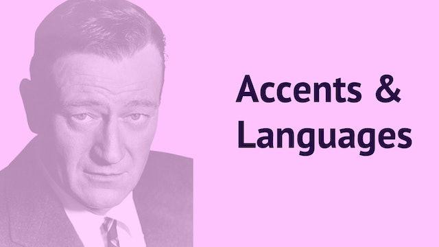 Accents & Languages