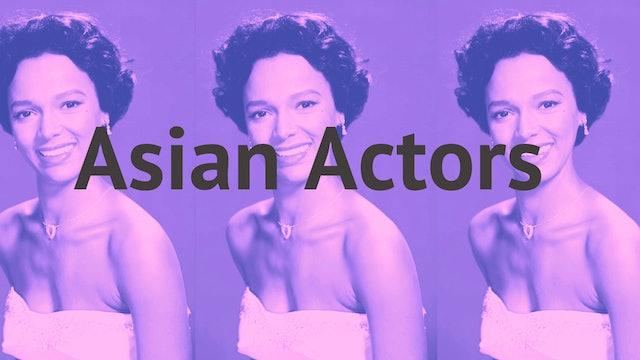 Asian Actors