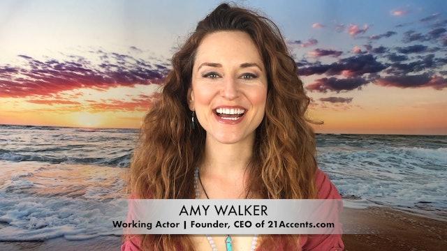 Meet Amy Walker: Actor & Founder of 21Accents.com