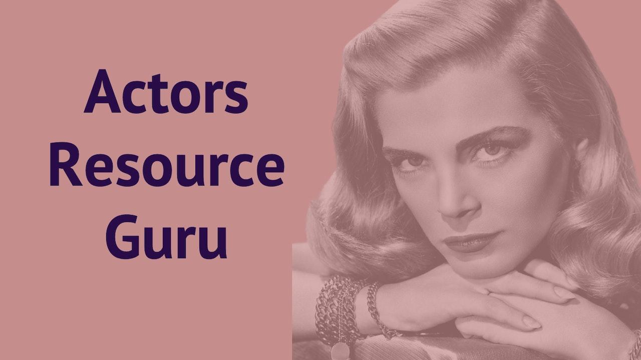 Acting Resource Guru