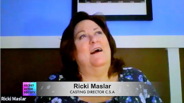 In An Audition, Should I Talk In The Character's Voice Before & After The Scene?