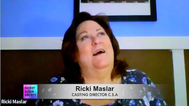 In An Audition, Should I Talk In The ...