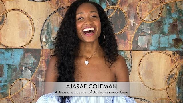 Meet Ajarae Coleman: Actor & Master Coach