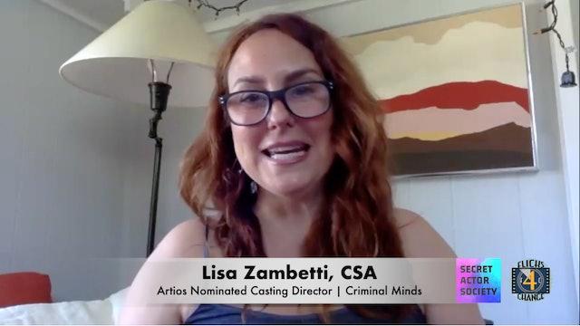 A Conversation With Casting Director Lisa Zambetti