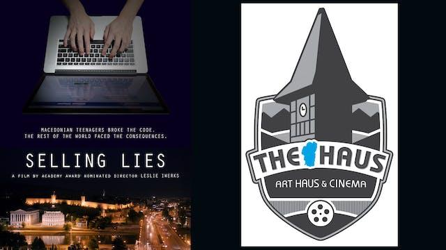 Selling Lies 4 Tahoe Art Haus & Cinema