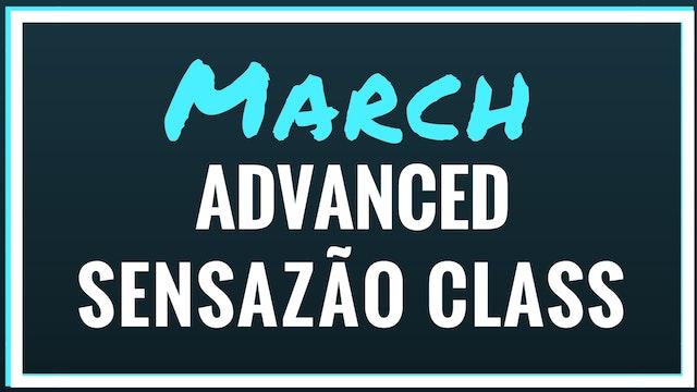 2018 March Advanced Sensazão Class