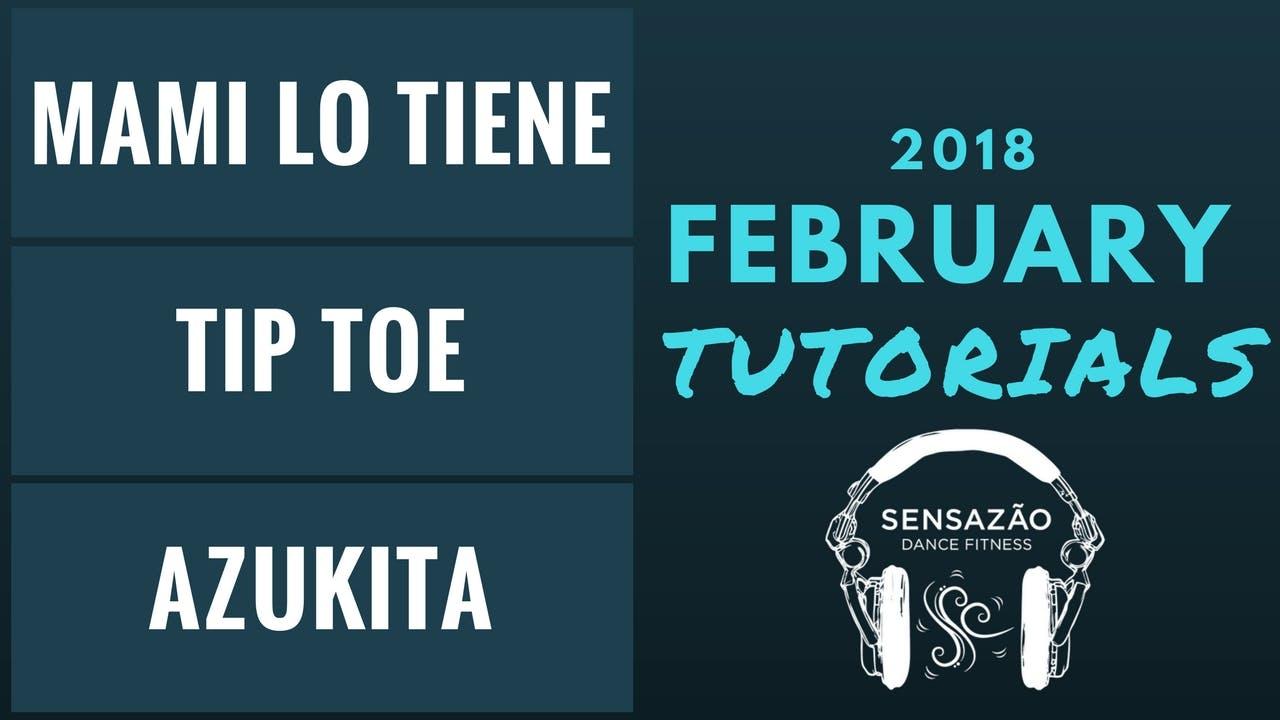 February 2018 Sensazão Tutorials