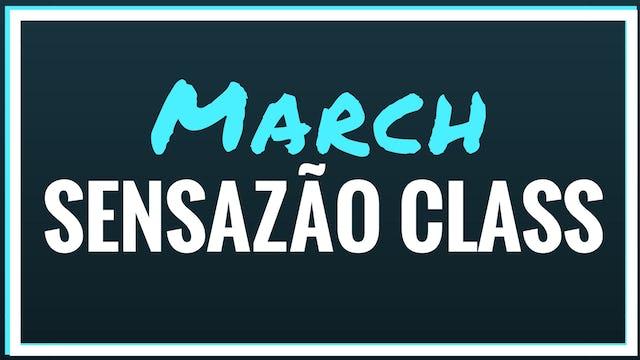 2018 March Sensazão Class
