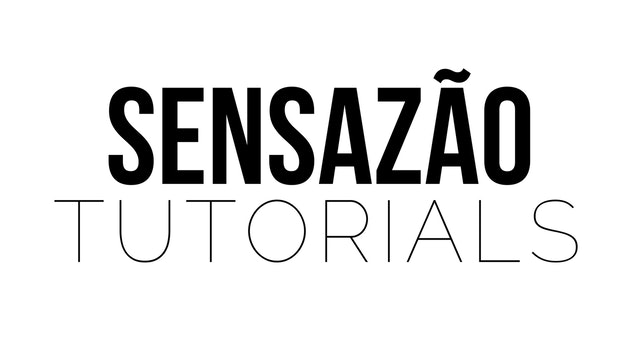 Sensazão Tutorials