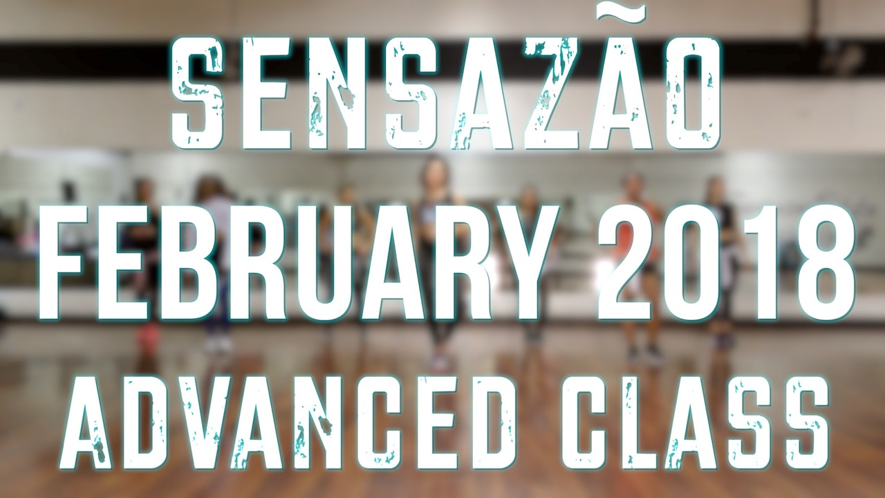2018 February Sensazao Advanced Class