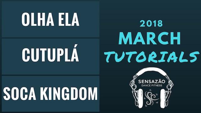 March 2018 Sensazão Tutorials