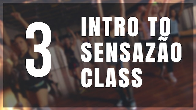 Intro to Sensazão | 3
