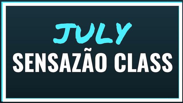 July 2018 Sensazão Class