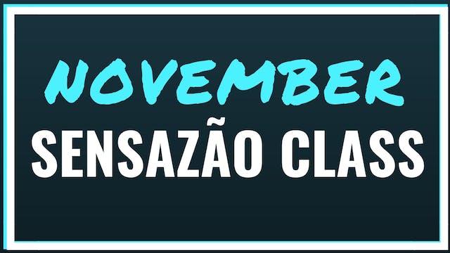 November 2018 Sensazao Class