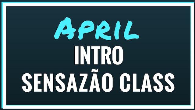 2018 April Intro to Sensazao