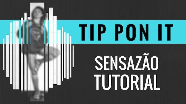 """Tip Pon It"" Sensazao Tutorial"