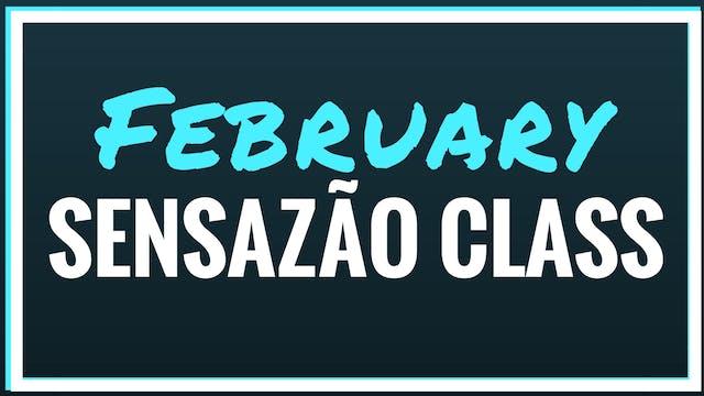 2018 February Sensazao Class - Sensazão Online