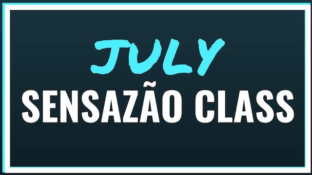 2018 July Sensazão Class