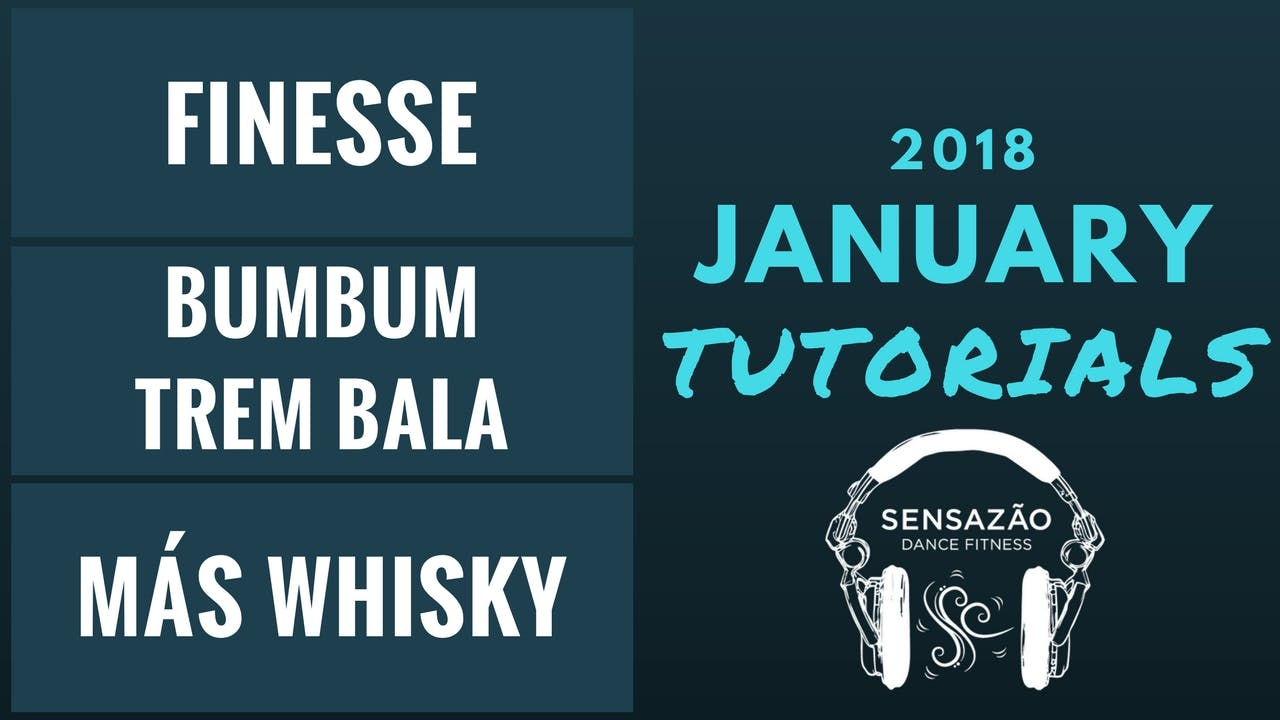 January 2018 Sensazão Tutorials