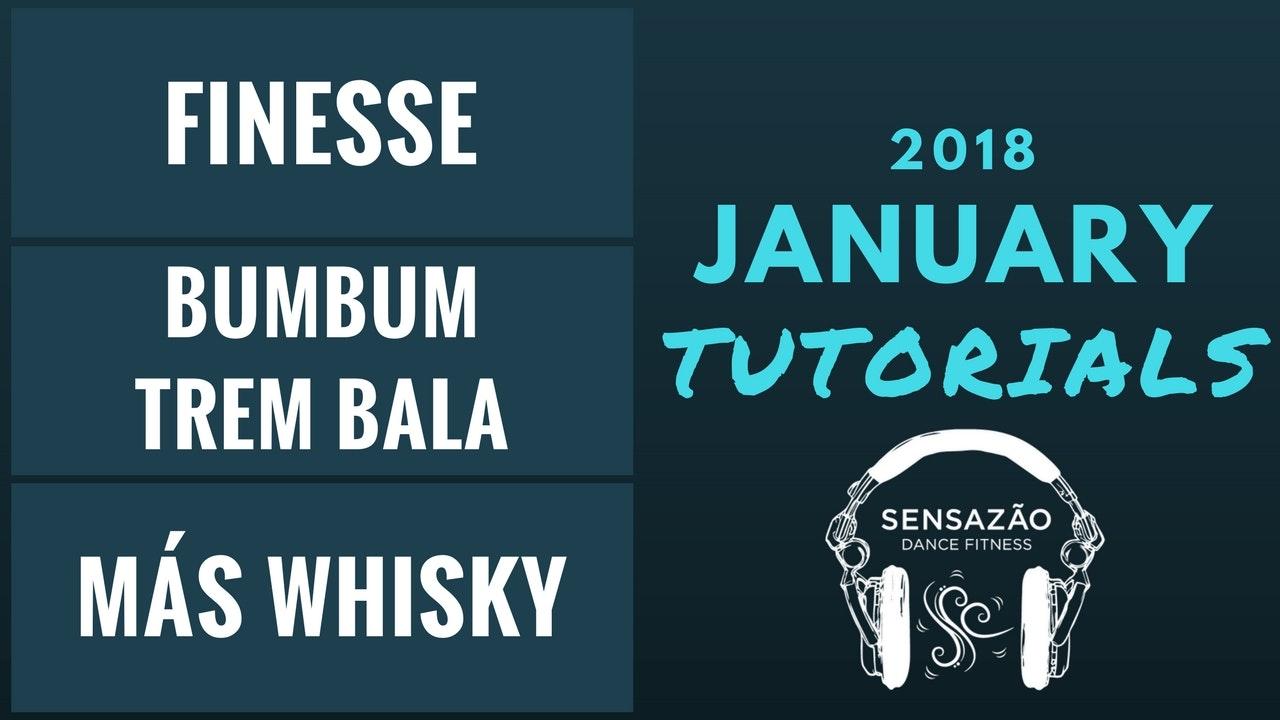 January 2018 Sensazão Tutorials
