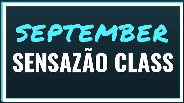 2018 September Sensazao Class