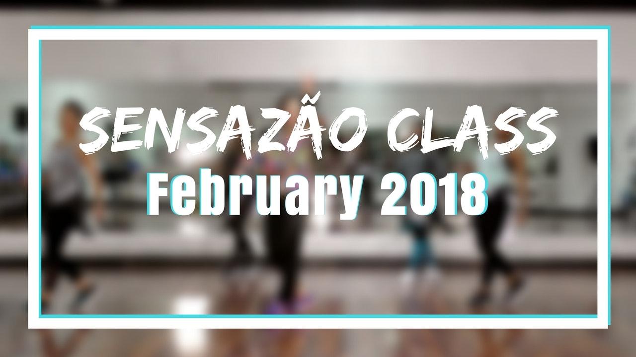 2018 February Sensazao Class