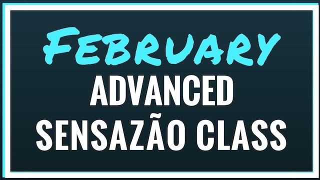 2018 February Advanced Sensazão Class