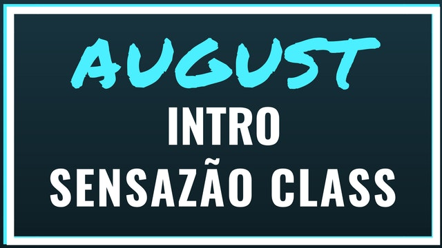 2018 August Intro to Sensazao Class