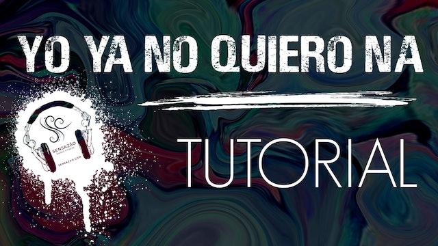 """Ya No Quiero Na"" Sensazão Tutorial"