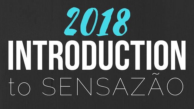 2018 Intro to Sensazao Classes