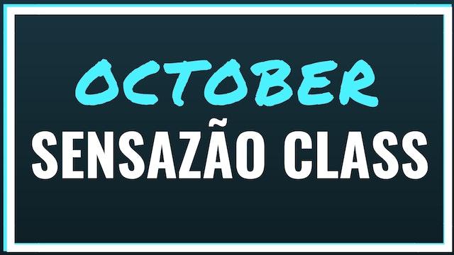 2018 October Sensazao Class