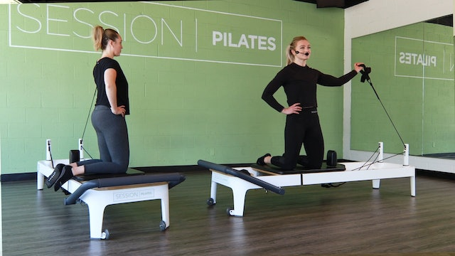 Reformer: Single-Arm Upper Body With West