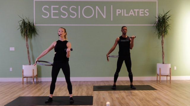 Floor: Upper Body *Magic Circle + Weights* With Brittany