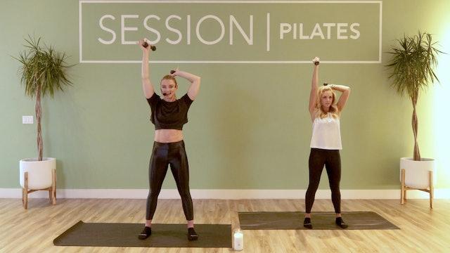 Floor: Biceps & Triceps With West