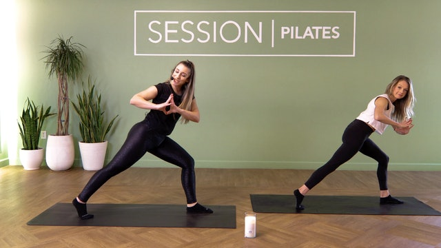 Floor: Hamstrings & Quads With Sarah