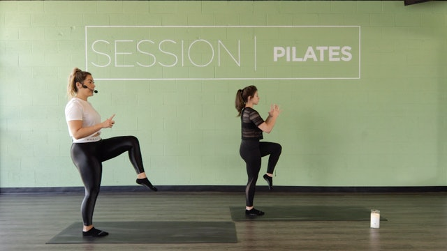 Floor: Quickie Glutes With Christine