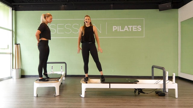 Reformer: Hamstrings & Quads With Sarah