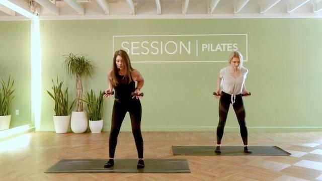 Floor: Triceps, Shoulders & Biceps With Judi