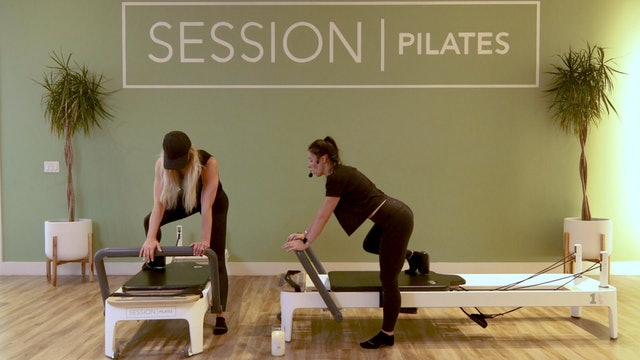 Reformer: Lower Body Strap Work With Weslynn