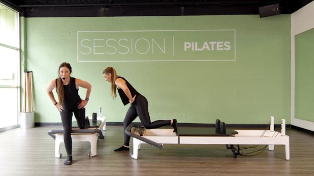 Reformer: Outer Thighs & Glutes With Weslynn