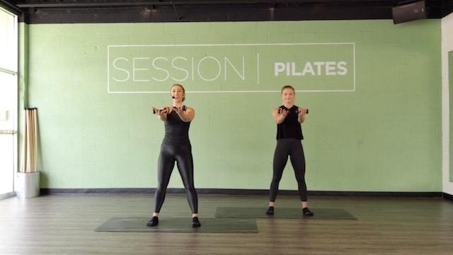 Floor: Biceps & Shoulders With Sarah