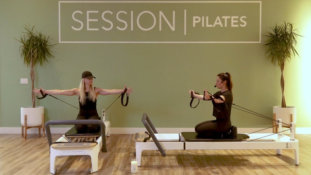 Reformer: Chest, Triceps & Shoulders With Weslynn