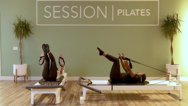 Reformer: 10-Min. Obliques With Jasmine