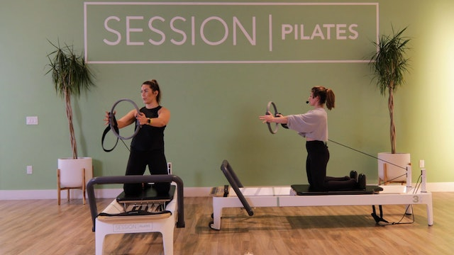 Reformer: Chest & Shoulders *Magic Circle* With Allison