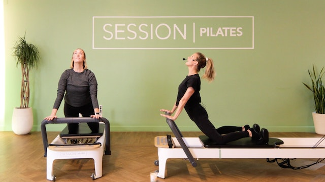 Reformer: Chest & Unilateral Work With Brittany