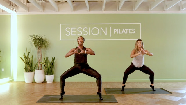 Floor: Inner Thighs & Glutes With Jasmine